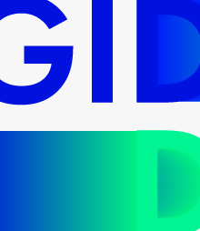 logotype for gid dix travel agency
